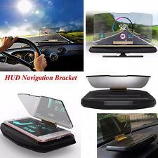 Car GPS Mobile Navigation Bracket HUD Head Up Projector Display CellPhone Holder