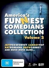 America's Funniest Comedians Collection : Vol 2 BRAND NEW SEALED 5 DVD BOXSET!!