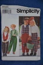 #9155 SIMPLICITY Sewing PATTERN CHILDS Separates Top/Pants sIZE 5-6-6Xyrs AS NEW