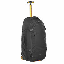 Kathmandu Travel Hybrid Backpack Wheeled Luggage Trolley 70L v3 Black