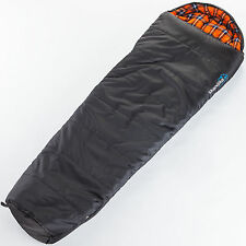 SKANDIKA LAPPLAND HIGH-END MUMMY SLEEPING BAG 220x80 -25°C NEW LEFT ZIP