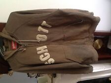 Scott NYC Hooded Khaki  Jumper in fair condition.Size L.