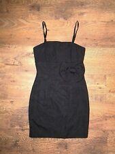 H&M Size 10 little black Dress with detachable straps