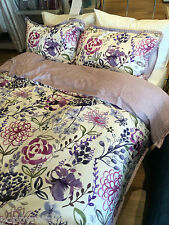 Next Wild Floral Cotton Sateen Double Size Duvet Cover  (36063)