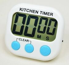 Magnetic Kitchen Cooking Large LCD Digital Timer Count Down Up Loud Alarm