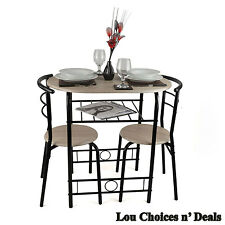 Compact Dining Set Table Chairs Student Small House Modern Breakfast Stand Room