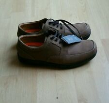 NEW Marks & Spencer MEN BROWN SUEDE LACE SHOE SIZE UK 7