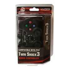 HYDRA Wired USB Game Controller For Sony PS3 black in original box