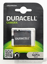 Duracell DRGOPROH4 GoPro Hero 4 (AHDBT-401) Battery New UK Stock Free Delivery