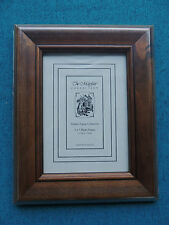 """THE MAYFAIR COLLECTION TIMBER PHOTO FRAME. 5 X 7"""""""