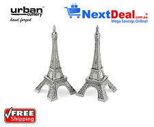 Eiffel Tower Paris Salt and Pepper Shakers made from Quality Metal - France