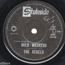 THE REBELS Wild Weekend  *NEW ZEALAND ORIGINAL 60s BEAT SINGLE*