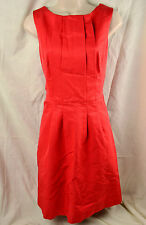 REISS 8 SEDUCTRESS CANDY RED COCKTAIL DRESS DRAPED PARTY OPEN BACK SLEEVELESS