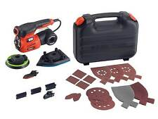 Black & Decker KA280 240V Autoselect 4-in-1 Multi Sander Plus 19 Accessories