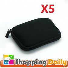 5 X Portable Soft Carrying Case for 2.5 Portable External Hard Drive
