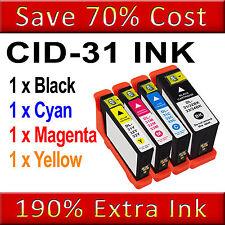 1 SET Ink Cartridge For Dell 31 V525W V725W