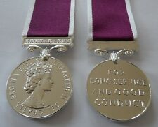 Army LSGC E11R Medal, Full Size, Army, Service, Conduct, Military, Ribbon, New