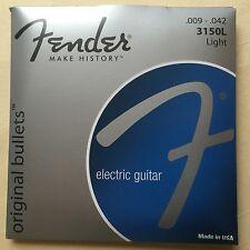 Fender Original Bullets 3150L 9-42 electric guitar strings, 2 sets