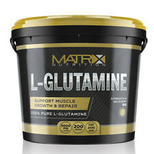 PURE L-GLUTAMINE - AMINO ACIDS - RECOVERY - BY MATRIX NUTRITION - 1KG