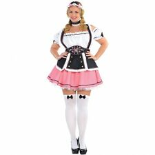 Deluxe Beer Tavern Wench Ladies Fancy Dress Costume Hen Party Outfit Plus Size