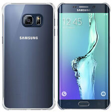NEW OFFICIAL SAMSUNG GALAXY S6 EDGE+ PLUS GLOSSY COVER HARD CASE IN BLUE BLACK