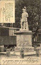 Saint-Brieuc Frankreich France AK 1903 Statue Connétable Du Guesclin Denkmal