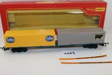 Triang Hornby OO 1:76 R.634 Freightliner Wagon 2 30ft Container Fyffes + 1  W423