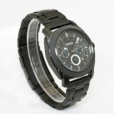 Fossil Herrenuhr FS4552 Black Chronograph