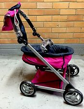 SALE NEW BABY DOLL STROLLER PRAM w/ REMOVABLE BASKET pretend play girls toy gift