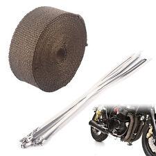 10m Hitzeschutzband Krümmerband Auspuffband Krümmer Rolle 5cm breit bis 1400°C