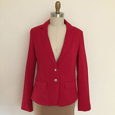 JAG Red ponte Jacket Size 8  RRP $149.- AS NEW