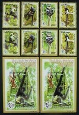 Vietnam 2014 Primaten Affen Monkeys Gezähnt & Ungezähnt Perf Imperf ** MNH