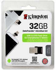 KINGSTON 32GB USB 3.0 SPEICHERSTICK FLASH DISK DRIVE OTG 32 GB MICRO USB