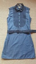 BURBERRY BRAND NEW BLUE GIRLS COTTON DRESS SIZE 12  RRP £155