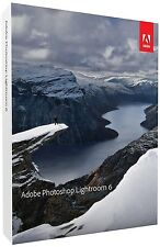 Adobe Photoshop Lightroom 6 Win/MAC Commercial Licence Sealed Retail Box
