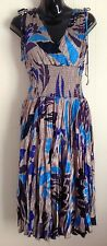 ladies size 14 Scrunchy Diana Ferrari dress
