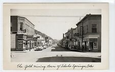 IDAHO SPRINGS: Colorado USA postcard (C10917)