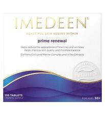 IMEDEEN PRIME RENEWAL Skincare 120 tablets, 1 month supply Exp.04-2017 NEW/BOX