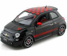 FIAT ABARTH 500 1:18 scale diecast model Bburago die cast models Black