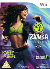 Zumba Fitness 2 Nintendo Wii PAL COMPLETE (Game Only)