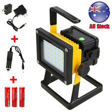 Portable Rechargeable 20 LED Work Light Flood Spot Outdoor Camping Hiking Lamp