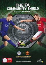FA COMMUNITY SHIELD 2016 Leicester City v Manchester United