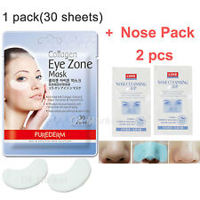 Collagen Eye Zone Mask Sheet Treatments Wrinkle Care Dark Circle Korean Purederm