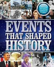 Events That Shaped History by Hinkler Book Distributors (Paperback, 2015)
