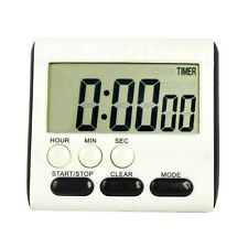 Large LCD Digital Kitchen Cooking Count-Down Up Alarm Clock Timer Magnetic L1Y
