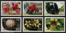Flowers set of 6 stamps mnh 2015 Nepal