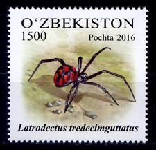 Spinnen. Schwarze Witwe. 1W. Usbekistan 2016