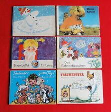 Konvolut 6 DDR Bilderbücher Der hartherzige Schneemann Meine Katzen Träumepeter