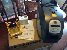 Brand New Zebra ZXP Series 3 Plastic ID Card Printer with Ethernet and USB