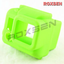 Soft Silicone Rubber Case Cover Protector for GoPro HD Hero 3 camera green color
